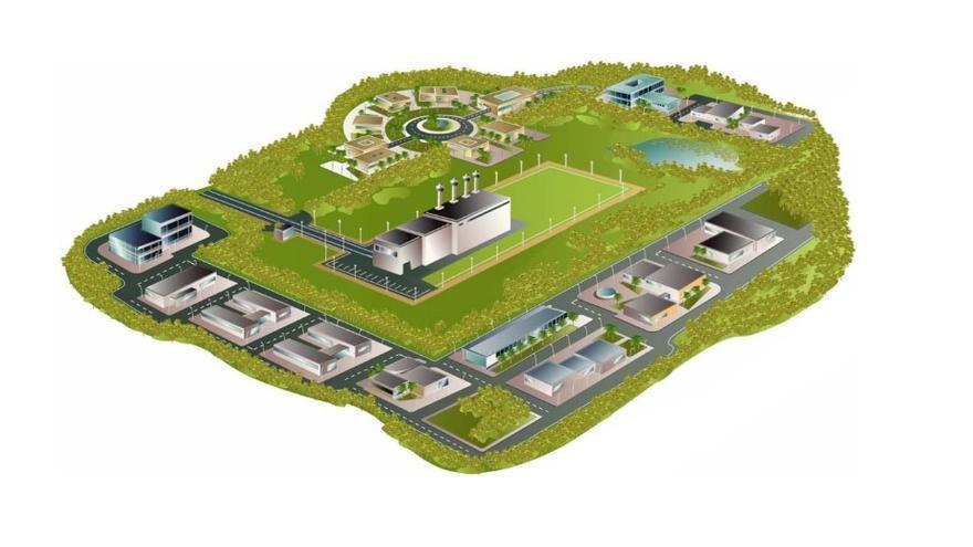 Proyección del Cementerio Nuclear
