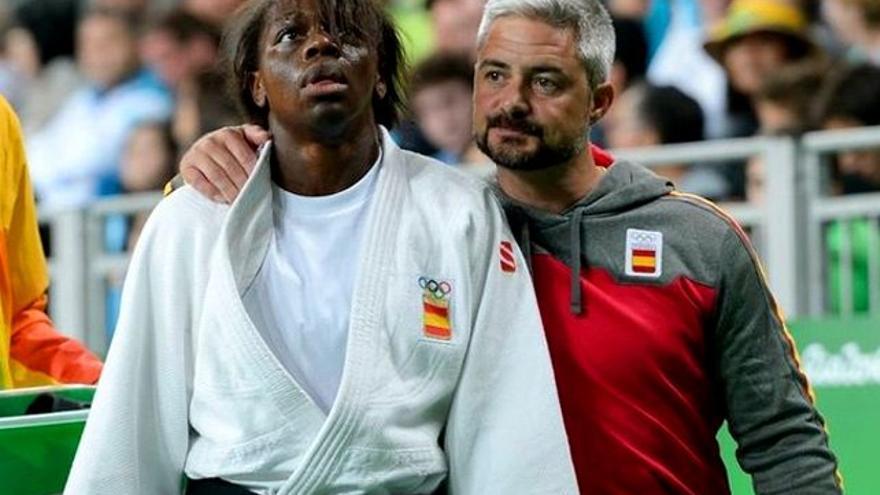 Manolo Lama, testigo del llanto de la judoca María Bernabéu al conectar con su madre