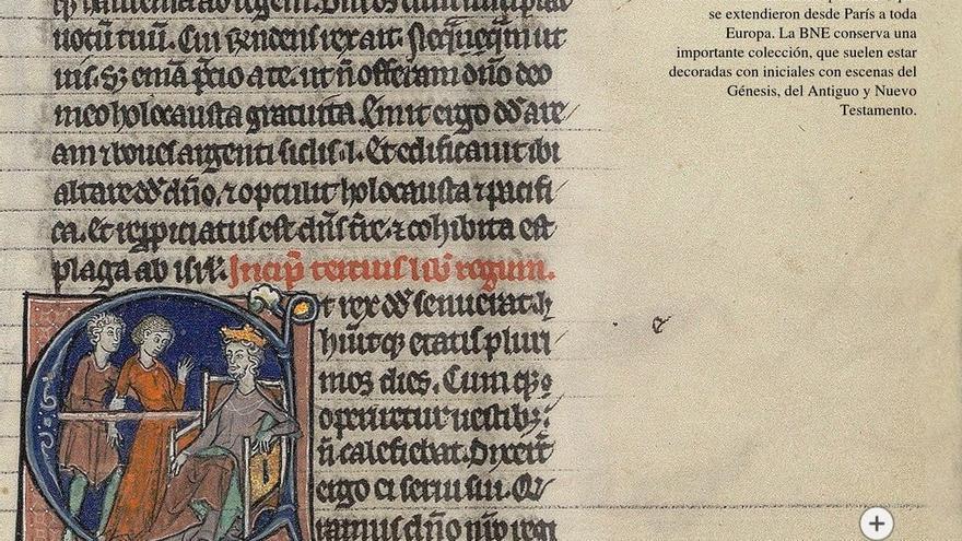 """La BNE da luz a la Edad Media con """"Luces del norte: manuscritos iluminados"""""""