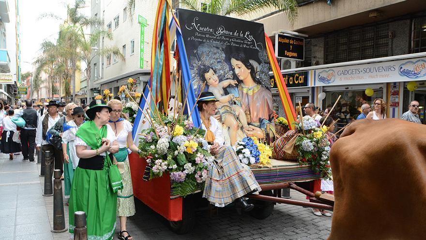 Paseo Romero Día de Canarias celebrado en Las Palmas de Gran Canaria.