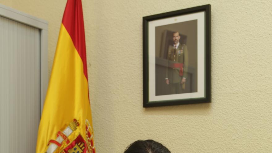 """La primera coronel del Ejército español: """"Soy un militar y he sacrificado y renunciado a lo mismo que mis compañeros"""""""