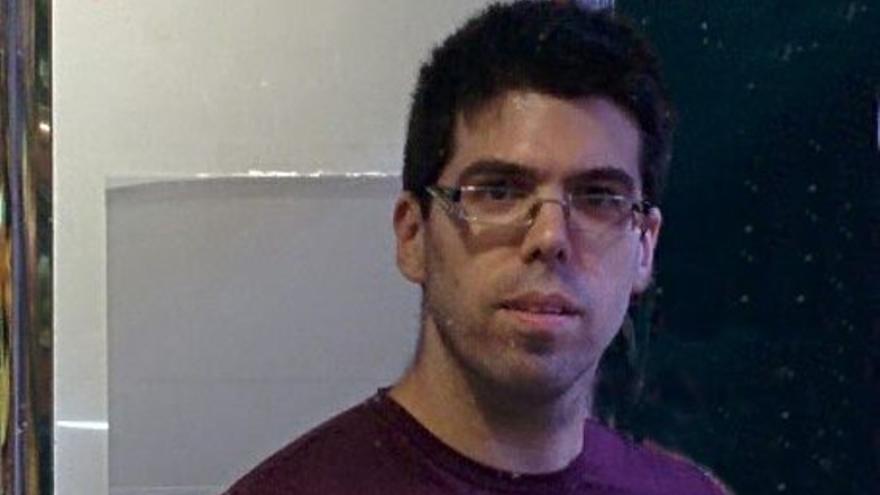 Victor García, miembro de Podemos