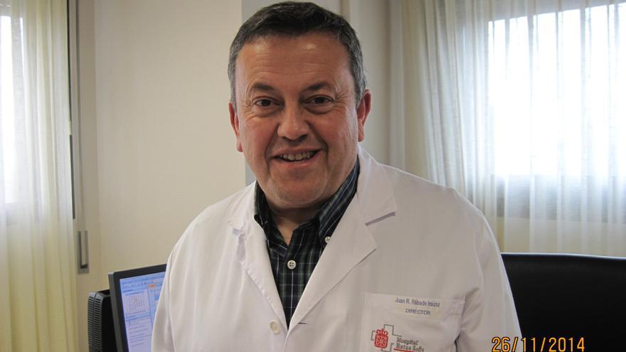 El director del Hospital Reina Sofía de Tudela, Juan Ramón Rábade.