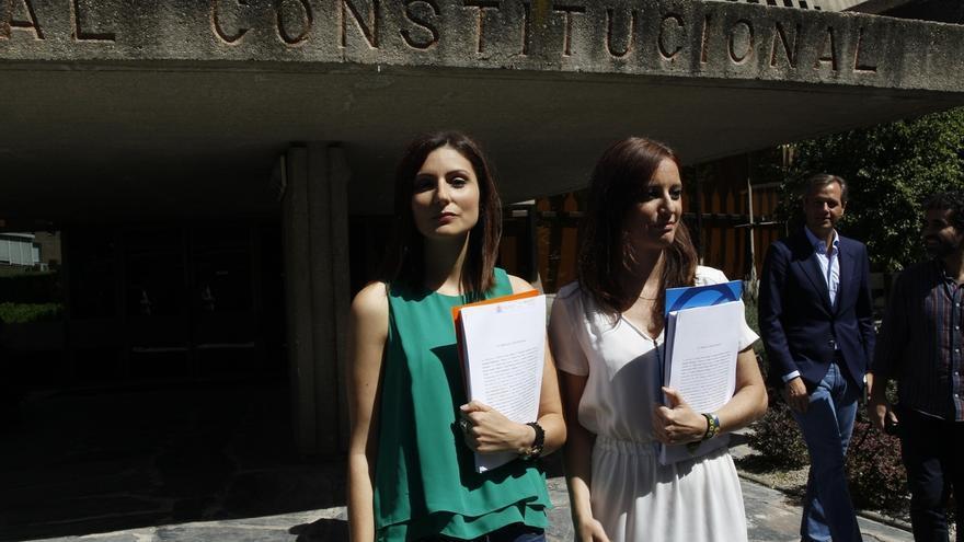 """El PP y Cs recurren en amparo al TC la reforma exprés del Parlament para que no se """"amordace"""" a los catalanes"""