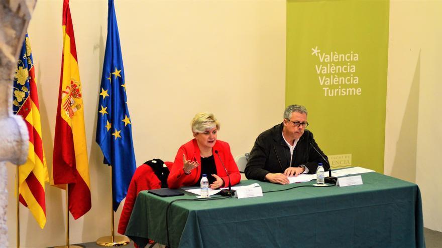 Pilar Moncho i Evarist Caselles han presentat el pla provincial