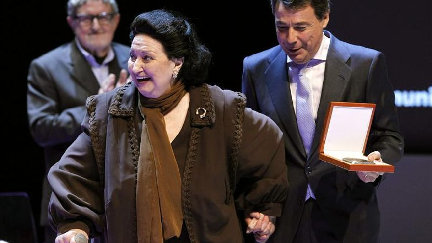 Montserrat Caballé asegura que la Medalla de Madrid la pondrá en el lugar de más honor de su casa