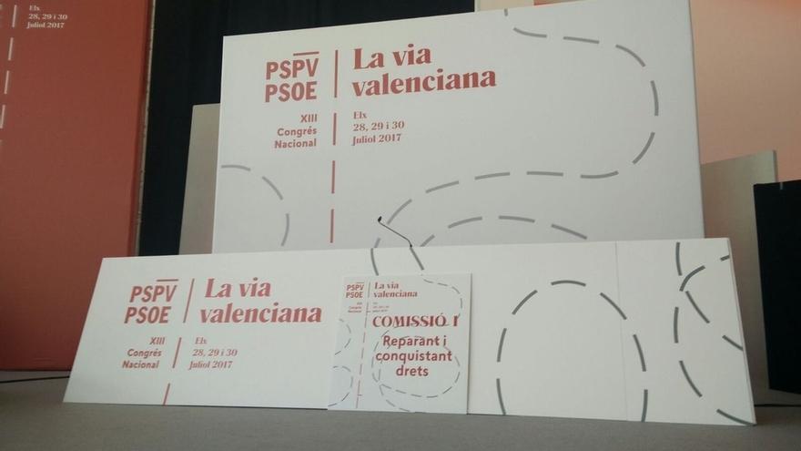 """El XIII Congreso del PSPV pide al Gobierno que """"deje de instrumentalizar"""" el valenciano y de """"atacar"""" en los juzgados"""