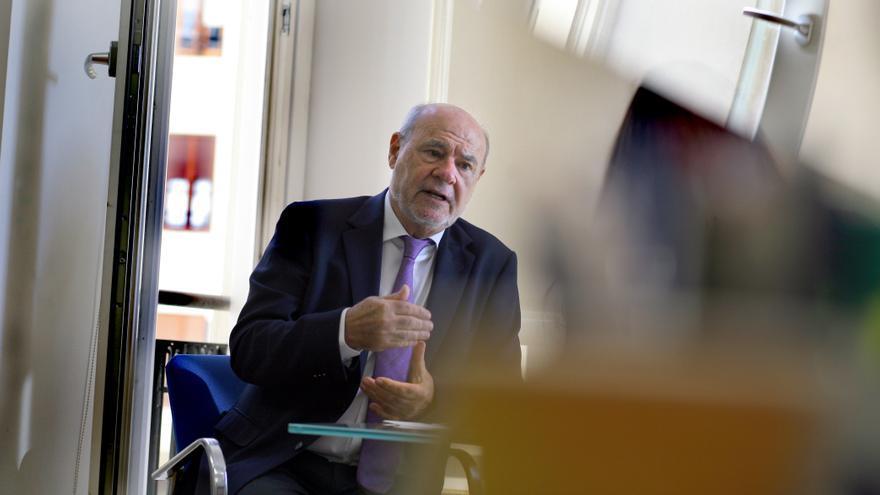 Andrés García Reche, vicepresidente Ejecutivo de la Agencia Valenciana de Innovación. / Jesús Císcar.