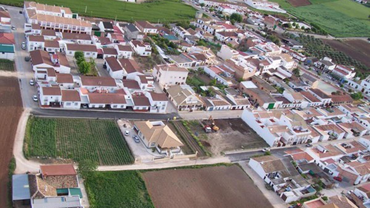 Vista aérea de La Guijarrosa.
