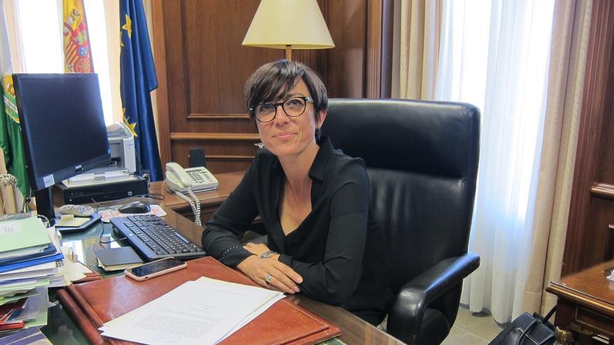 María Gámez, en su despacho
