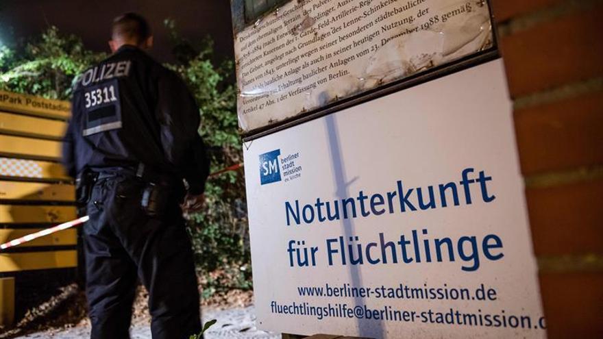 La Policía alemana mata a un refugiado en una pelea en un albergue de Berlín