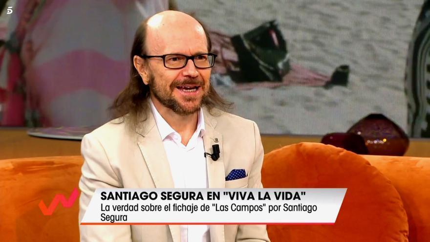 Santiago Segura en 'Viva la vida'
