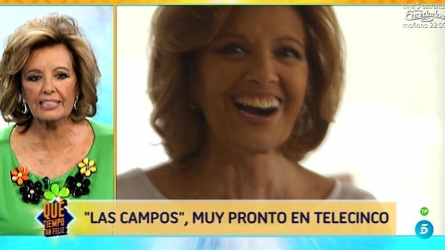 María Teresa Campos, sobre su programa: 'Lo de 'Las Campashian' es una gilipollez'
