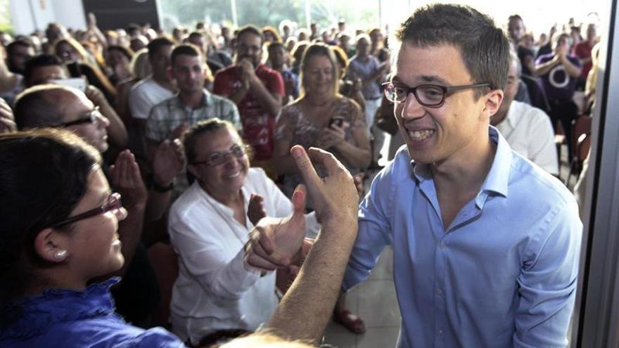 Iñigo Errejón, secretario de Política de Podemos.