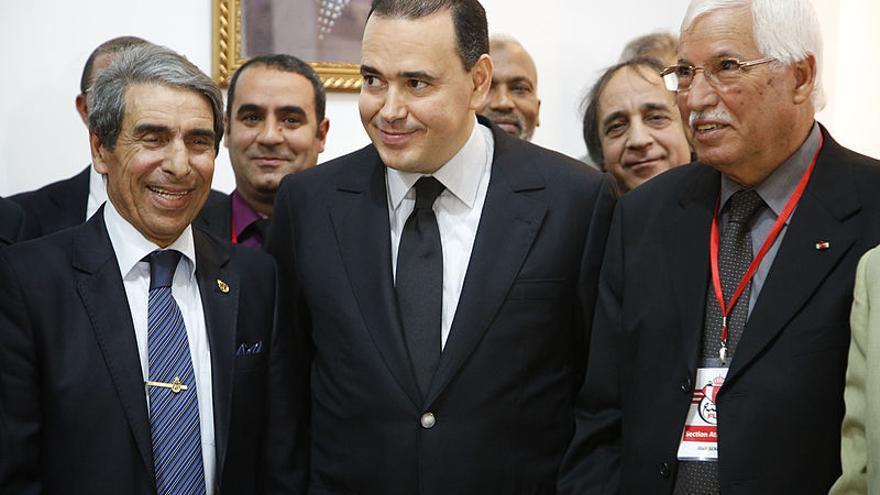 Mounir Majidi (en el centro). Foto: FDaburon