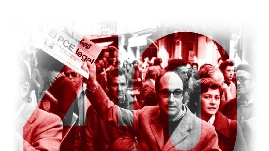 """PCE quiere mantener """"vivos"""" los ideales de """"libertad, justicia y socialismo"""" en el 40 aniversario de su legalización"""