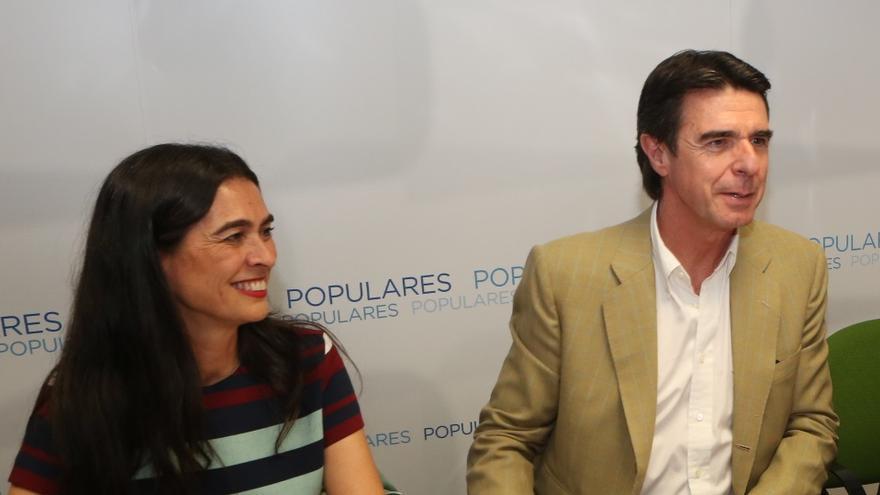 María del Carmen Hernández Bento y José Manuel Soria en una imagen de archivo.