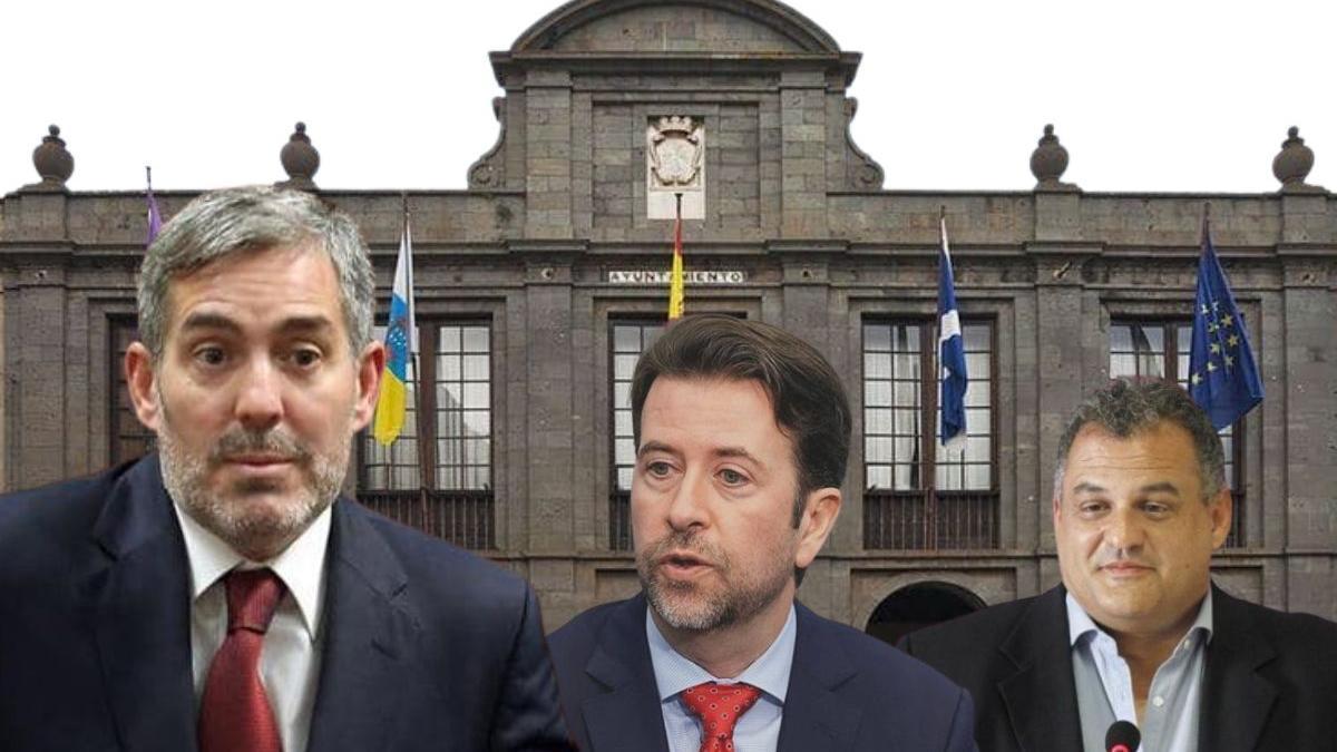 Avante reprobará a Fernando Clavijo, Carlos Alonso y José Alberto Díaz