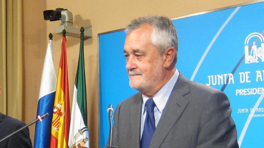"""Griñán recalca que el Fondo de Liquidez no puede ser una """"norma caprichosa"""", sino que debe basarse en reglas objetivas"""