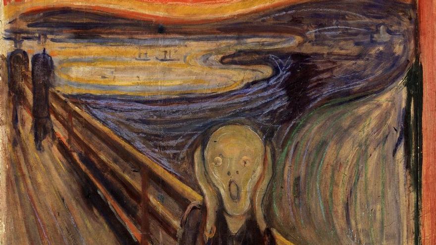 Cuadro 'El grito' de Edvard Munch
