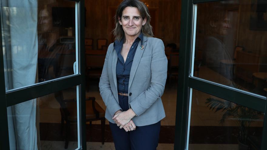Teresa Ribera, vicepresidenta del Gobierno y ministra para la Transición Ecológica y el Reto Demográfico