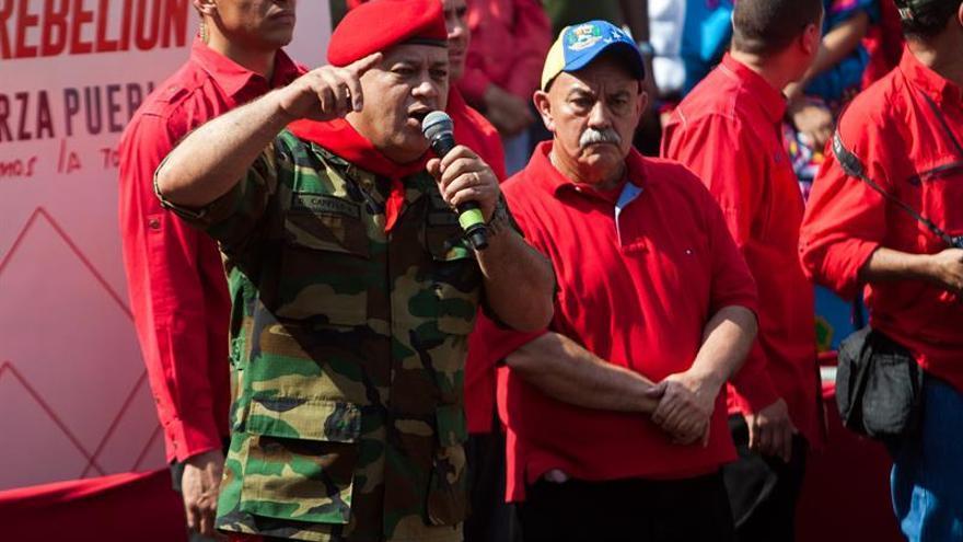 El chavismo dice que no hay posibilidad de llamar a elecciones generales en Venezuela