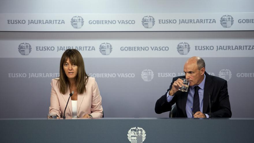 El Gobierno Vasco desea toda la suerte del mundo a Aguirre en su nueva etapa