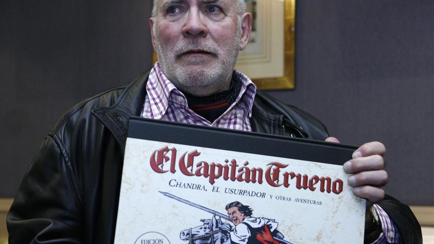 Víctor Mora, creador del Capitán Trueno