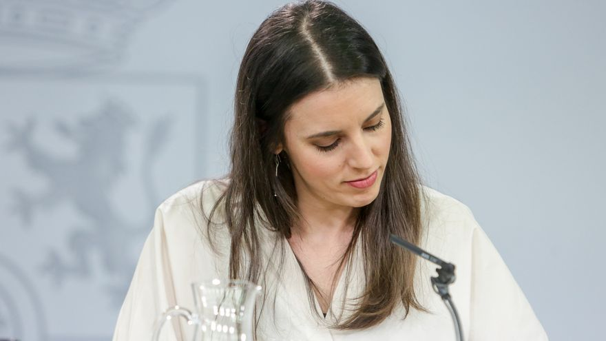 "Irene Montero warns that the agreement with the PSOE ""clearly says that the labor reform must be repealed"""