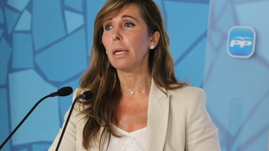 "Alicia Sánchez-Camacho reprocha a Artur Mas que anteponga ""su gira por Europa"" a gobernar para los catalanes"