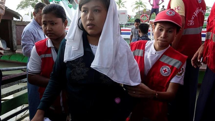 Al menos 87.000 rohinyás han llegado a Bangladesh en últimos días días