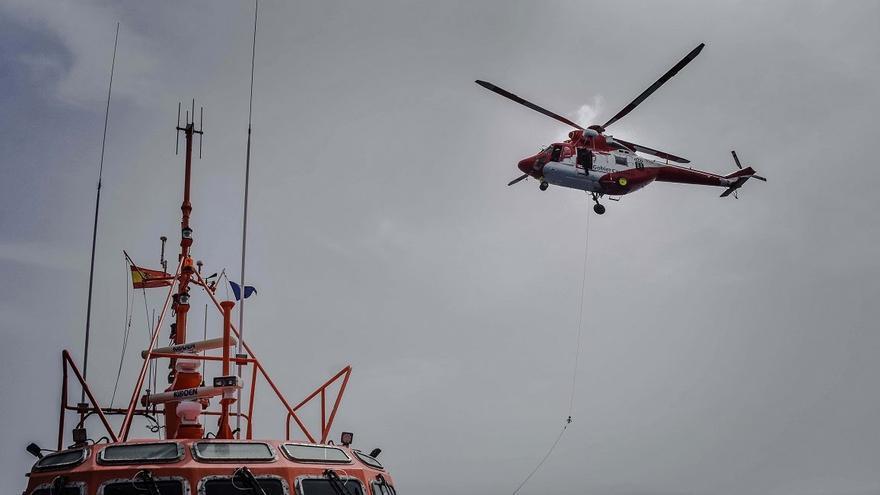 Se disipa la alarma sobre el vertido de gasoil que se produjo a casi cuatro millas de Arrecife