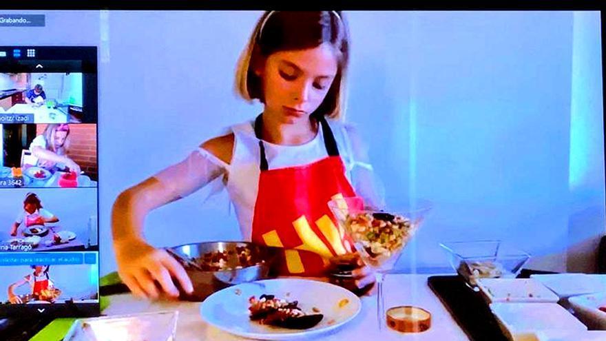 Captura del casting virtual en Barcelona de 'MasterChef Junior'