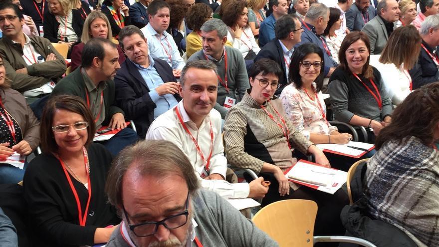 """Armengol muestra la disposición """"absoluta"""" de los socialistas a ayudar para que Iceta sea presidente de Cataluña"""