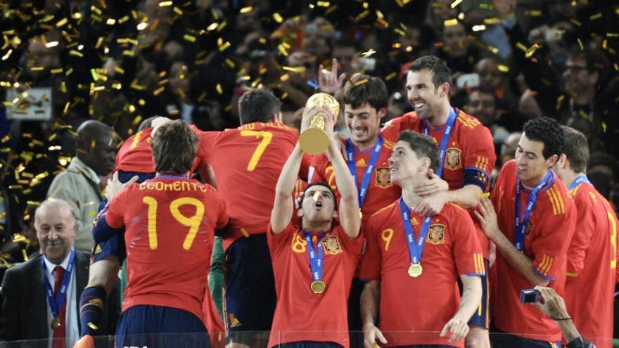 El acento canario en la selección campeona del Mundo