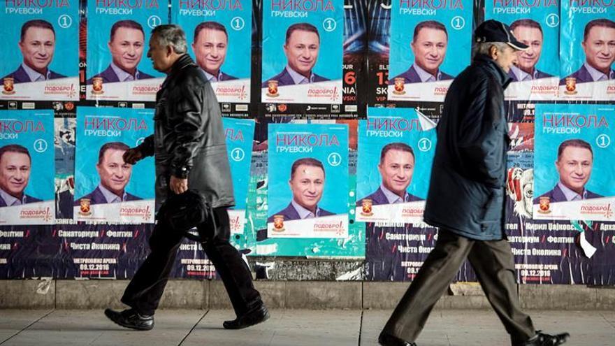 Macedonia celebra el domingo las terceras elecciones anticipadas del año