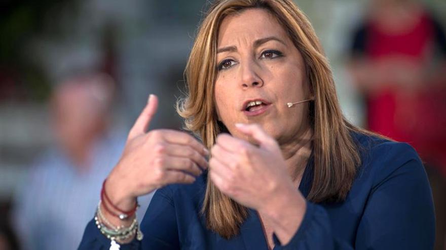 """Díaz: """"La gente de Andalucía es muy lista y tiene calada a Podemos"""""""