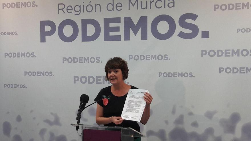 María Giménez de Podemos
