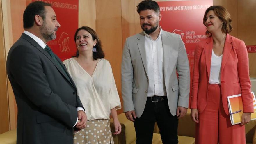 Rufián asegura que ERC no bloqueará una posible investidura de Sánchez