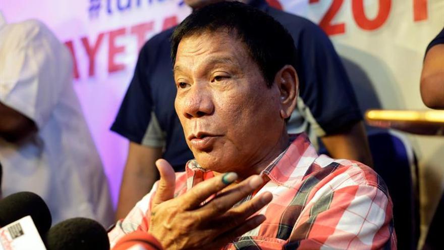 Duterte quiere cambiar la constitución filipina e imponer un sistema parlamentario