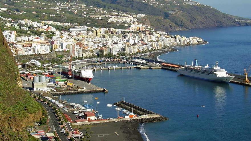 Panorama del puerto de La Palma