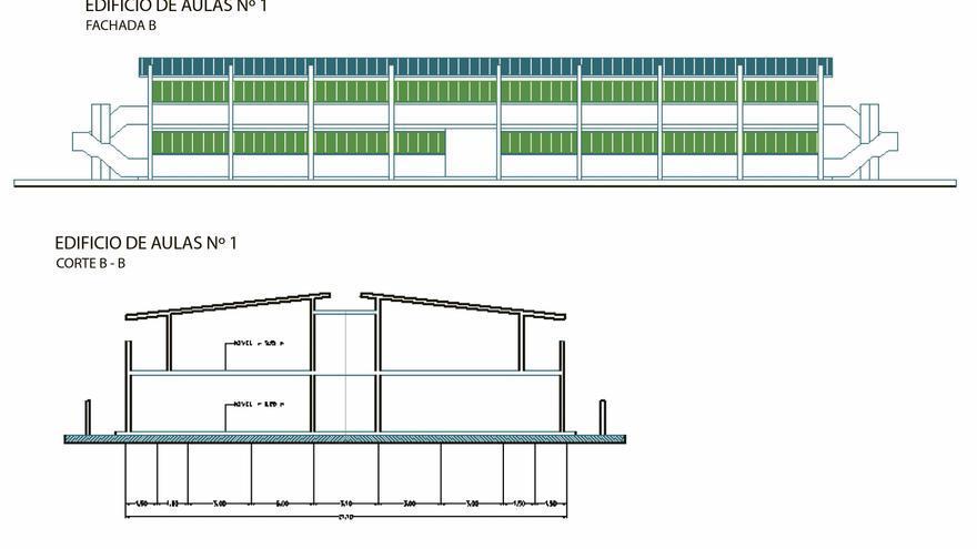 Uno de los planos de la futura Universidad 'Fray Hernando' / Grupo AMCA
