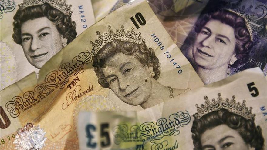 La libra baja el 0,08 % frente al dólar por la incertidumbre sobre Escocia