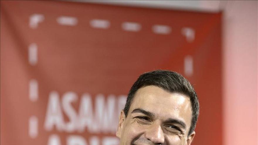 Pedro Sánchez estrena su web, en la que publica todas sus reuniones diarias