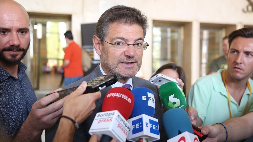 """Catalá asegura que """"podría revisarse"""" el número de vocales del CGPJ en la próxima legislatura"""