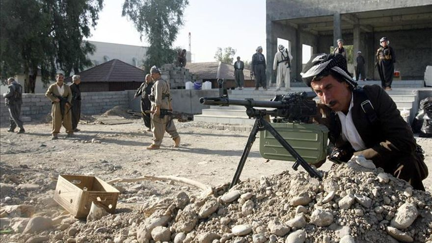 EE.UU. lanza otros 15 ataques aéreos cerca de la presa de Mosul