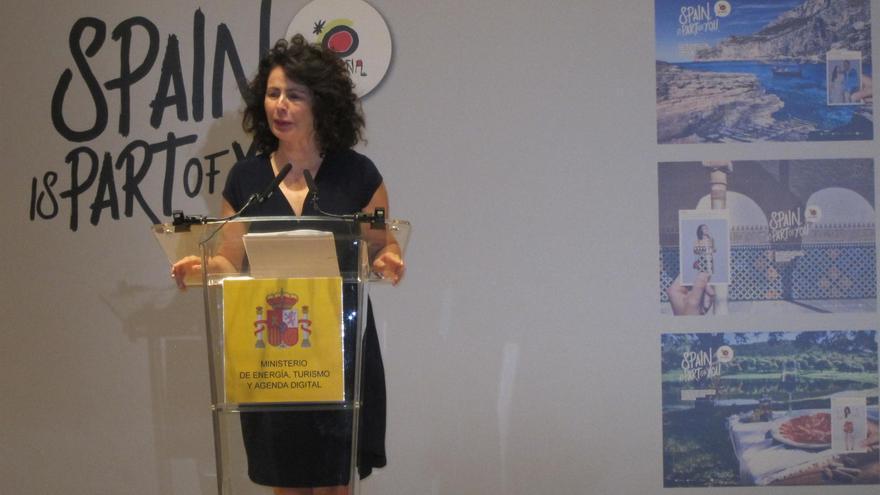 La secretaria de Estado de Turismo, Matilde Asián.