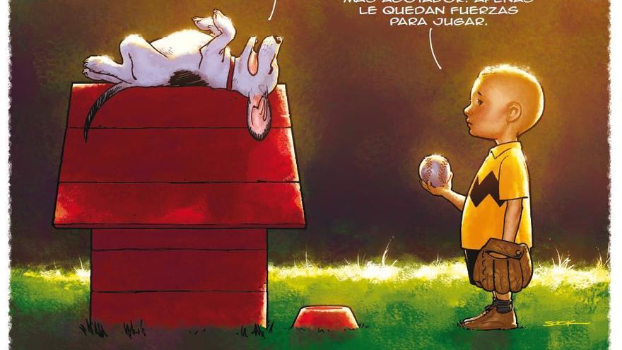 Carlitos y Snoopy, según Ryan Sook