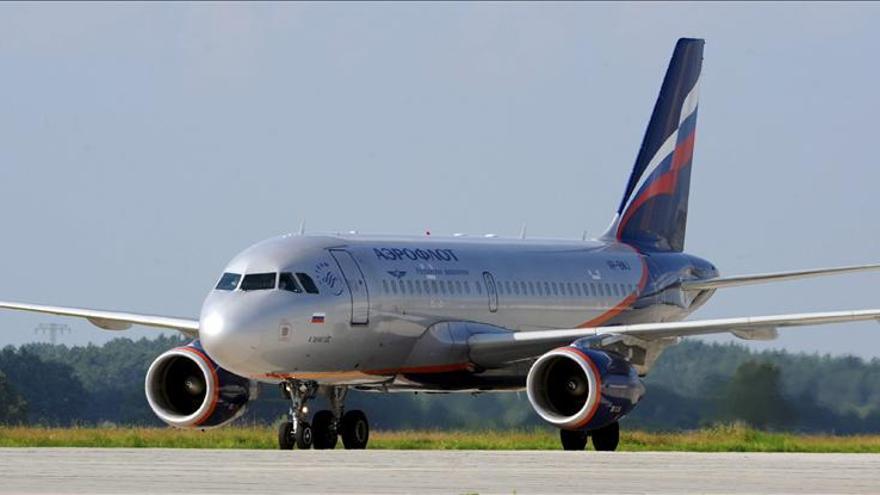 La aerolínea rusa Aeroflot incrementa un 25 por ciento el transporte de pasajeros