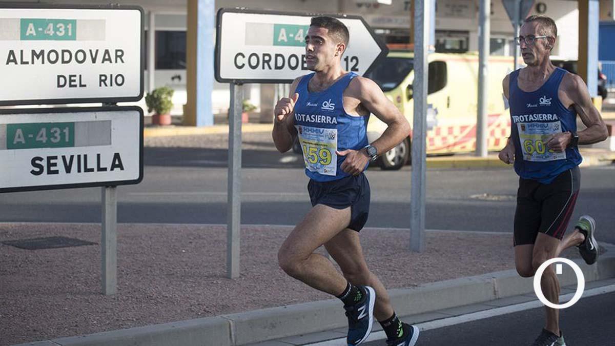 Atletas en la última edición de la Media Maratón Córdoba - Almodóvar